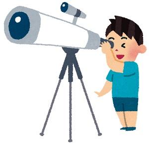 望遠鏡の画像