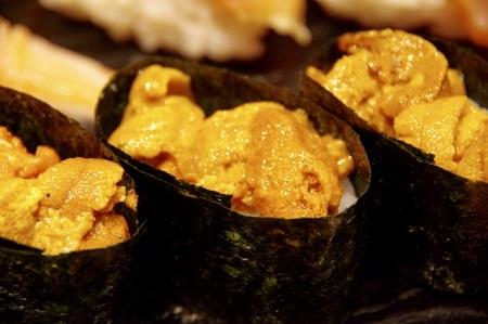 ウニのお寿司