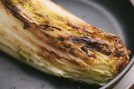 焦げた白菜